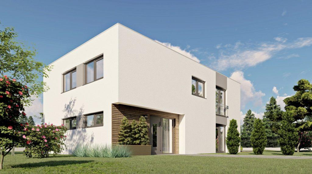 Fertighaus im Bauhausstil: PERFEKT-Haus Berlin